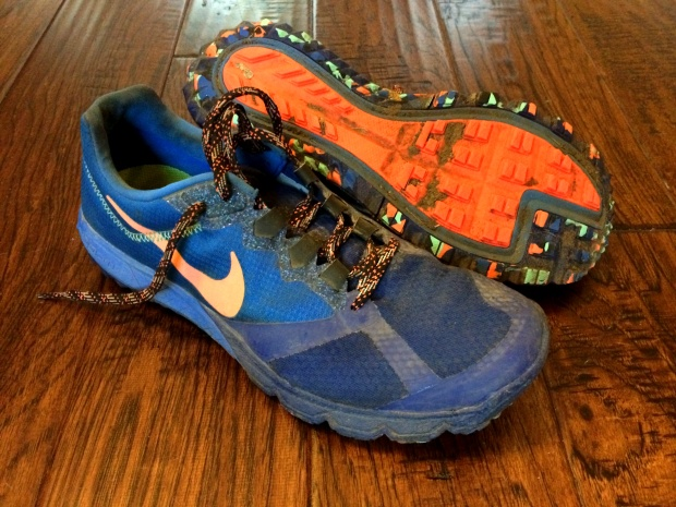 Nike Zoom Wildhorse: these are the shoes I wore for my first ever ultra win, at Whoo's in El Moro 50k.