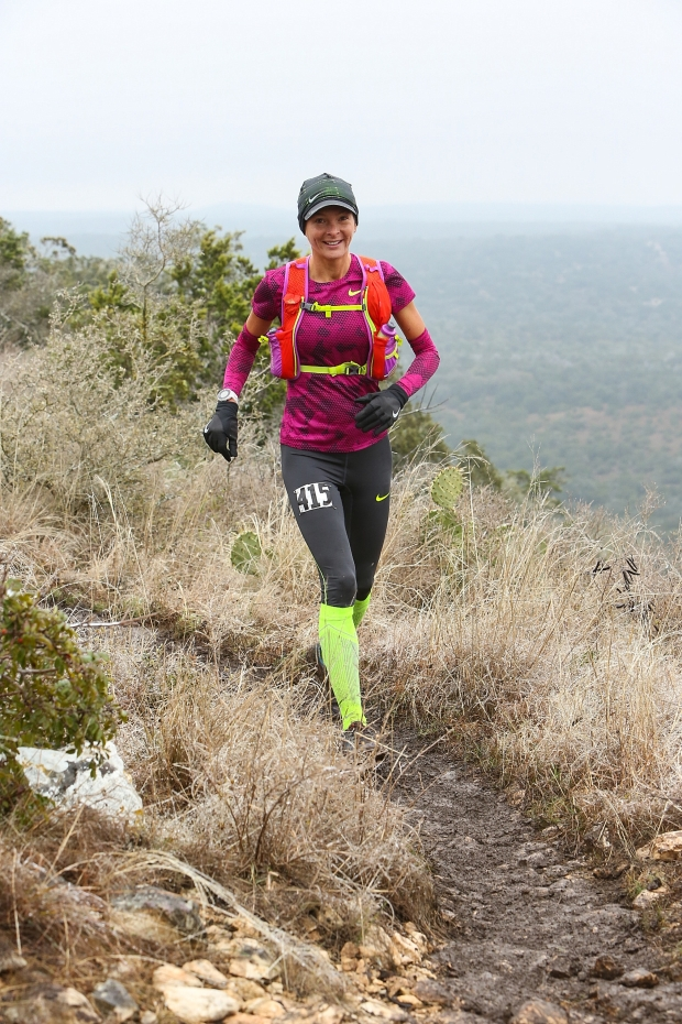 Running with a new sense of purpose in 50k loop two (Photo credit: Enduro photo)