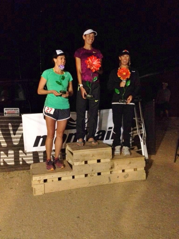Ladies Podium (Photo: Aravaipa Running)