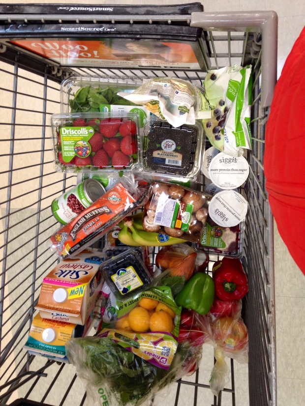 Typical shopping cart (really!)
